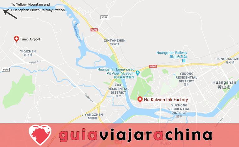 Fábrica de Tinta Hu Kaiwen (Tunxi) - Un toque cercano con el misterioso tintero chino 8