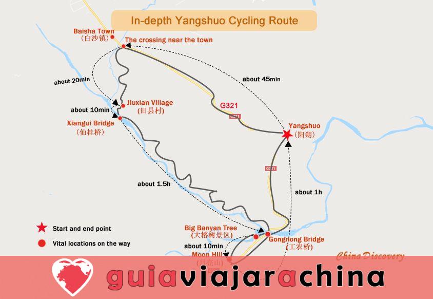 Yangshuo Biking Guide - Top Rutas y Mapas de Ciclismo, Alquiler de Bicicletas 10