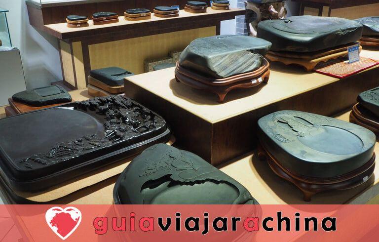 Fábrica de Tinta Hu Kaiwen (Tunxi) - Un toque cercano con el misterioso tintero chino 6