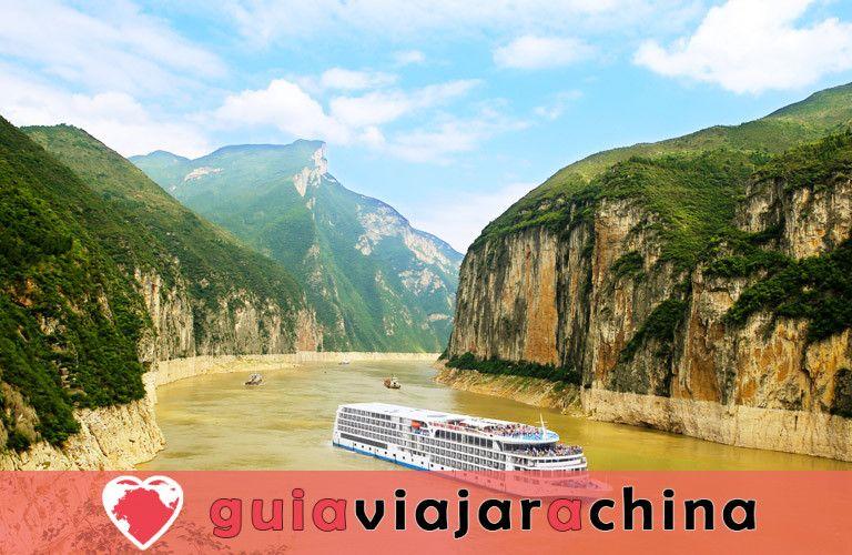 """Ciudad del Emperador Blanco - """"Ciudad de los Poemas"""" en el río Yangtsé 7"""