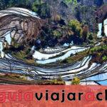 Terrazas de Arroz Laohuzui (Terrazas de Arroz Mengpin)