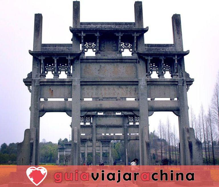 Arcos conmemorativos de Tangyue - El grupo de arcos más grande de China 5