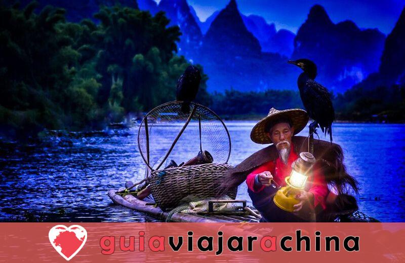 Pueblo antiguo de Xingping - Presidente del Pueblo de la Pesca 6