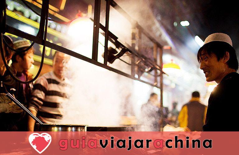 Barrio Musulmán - Calle con sabor a comida de Xian que debes ir 3