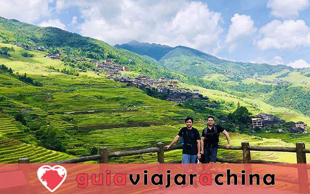 Terrazas de la Antigua Aldea Zhuang de Longji - la raíz de las terrazas de arroz de Longji 2