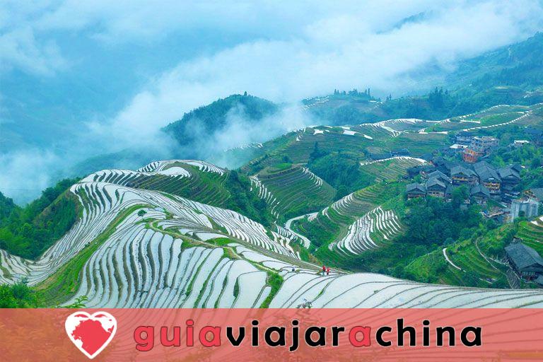 Pueblo Huangluo Yao - El pueblo de pelo largo del mundo de Guinness 5