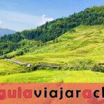 Terrazas de la Antigua Aldea Zhuang de Longji - la raíz de las terrazas de arroz de Longji