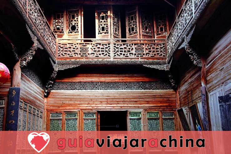 Lucun Village - Las mejores tallas de madera de China 3