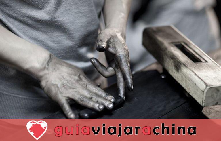 Fábrica de Tinta Hu Kaiwen (Tunxi) - Un toque cercano con el misterioso tintero chino 7