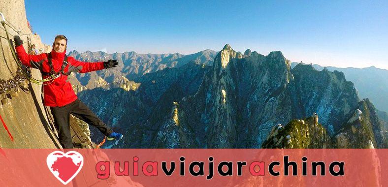 Monte Huashan - Desafía la ruta de senderismo más peligrosa del mundo 1