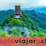 Monte Qingcheng - Famosa montaña taoísta en China