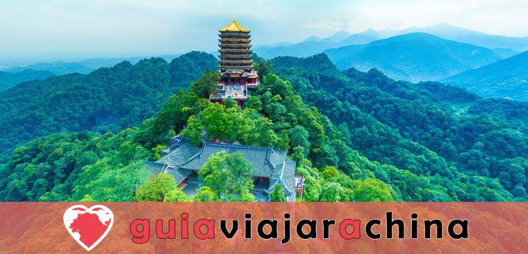 Monte Qingcheng - Famosa montaña taoísta en China 1