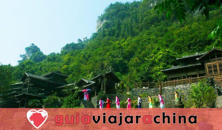 Tribu de las Tres Gargantas - El más bello lugar escénico en Yangtze Three Gorges 5