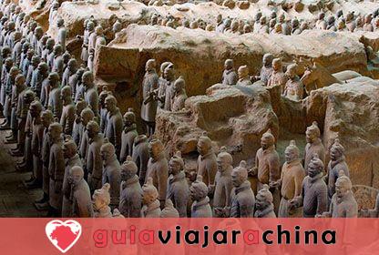 Guerreros y caballos de terracota - Museo de Sitio del Mausoleo del Emperador Qinshihuang 10