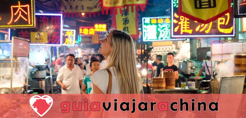 Barrio Musulmán - Calle con sabor a comida de Xian que debes ir 1
