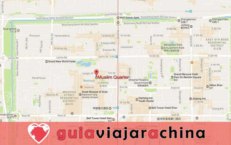 Barrio Musulmán - Calle con sabor a comida de Xian que debes ir 10