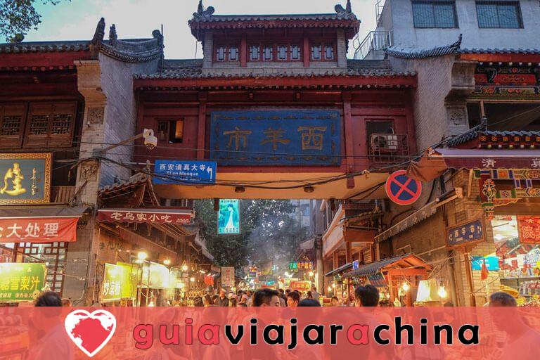 Barrio Musulmán - Calle con sabor a comida de Xian que debes ir 2