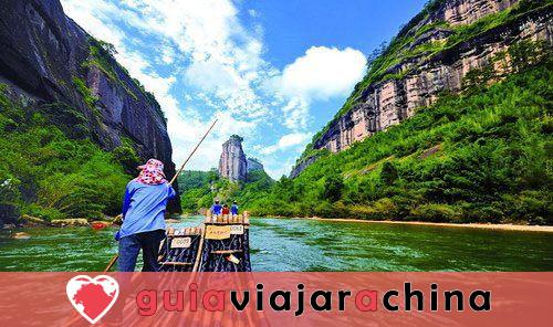 Montaña Wuyi (Wuyishan) - Paisaje pintoresco y la vieja cultura Fujian 5