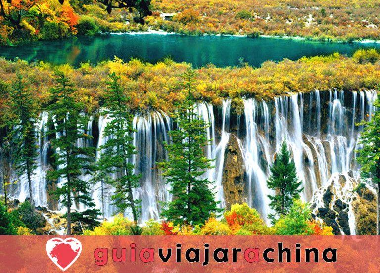 Valle del Jiuzhaigou - los más bellos paisajes acuáticos de China 2