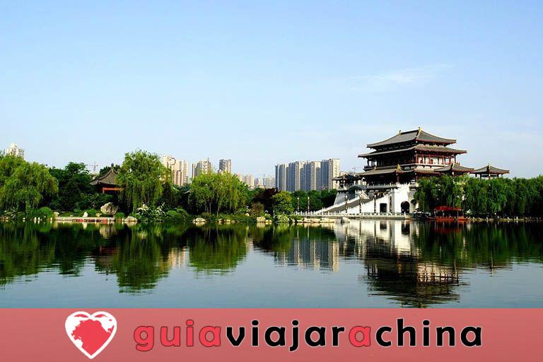 Tang Paradise - El mayor jardín imperial estilo Tang de China 4
