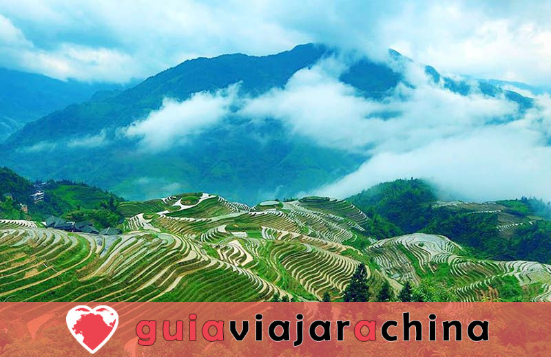 Terrazas de la Antigua Aldea Zhuang de Longji - la raíz de las terrazas de arroz de Longji 4