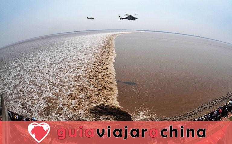 La marea del río Qiantang - la marea más espectacular del mundo 3