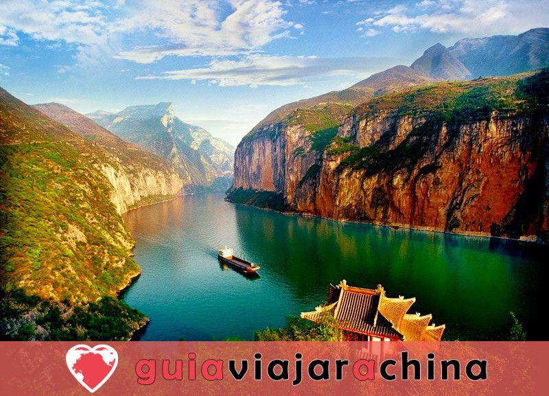 Tres Gargantas - pintoresco punto culminante del crucero por el río Yangtsé 2