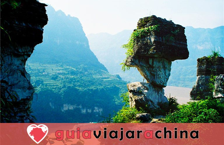 Tribu de las Tres Gargantas - El más bello lugar escénico en Yangtze Three Gorges 7