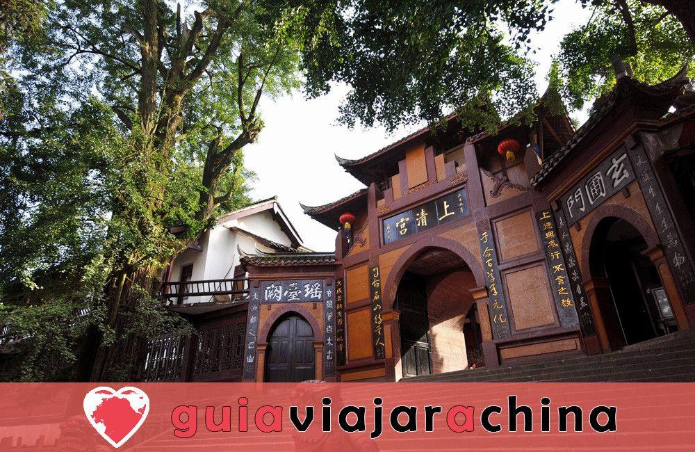 Monte Qingcheng - Famosa montaña taoísta en China 4
