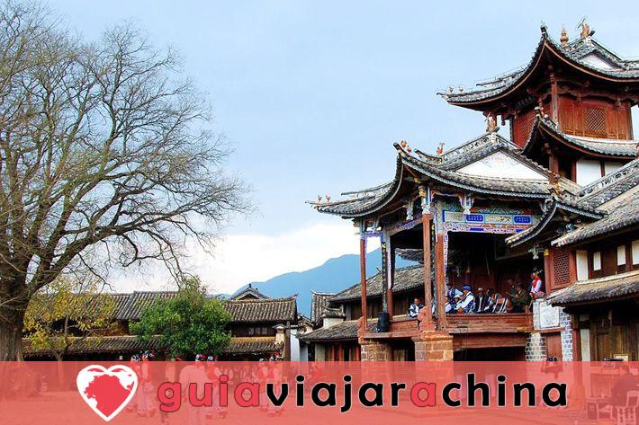 Shaxi Ancient Town (Jianchuan) - La ciudad de caravanas de caballos más intacta 2