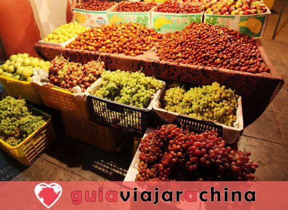 Mercado nocturno de Shazhou - Un bocado de Dunhuang 5