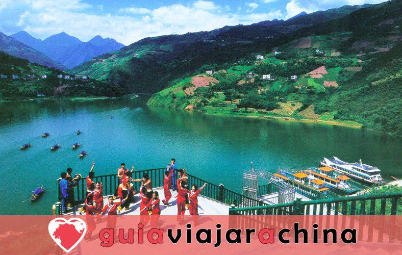 Tres Gargantas - pintoresco punto culminante del crucero por el río Yangtsé 5