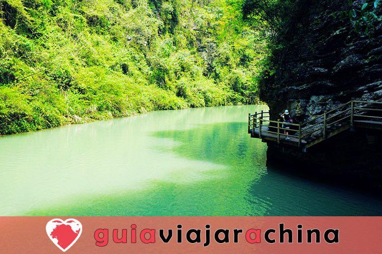 El Gran Cañón de Zhangjiajie - El puente de cristal más alto del mundo y el encantador país de las maravillas 4