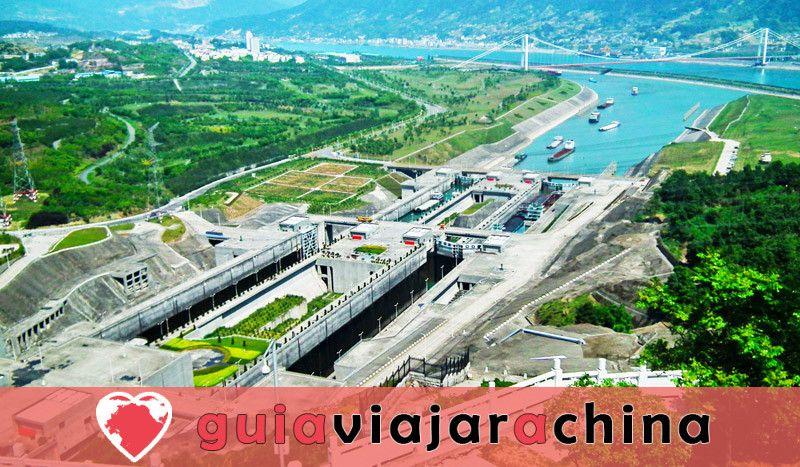 Presa de las Tres Gargantas - Proyecto de control de aguas de gran envergadura en el mundo 3
