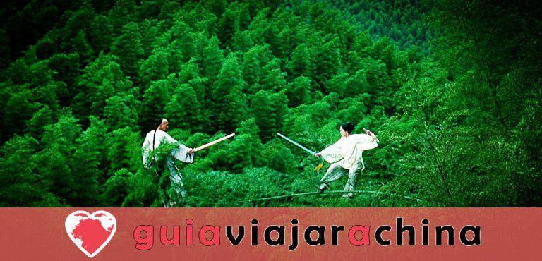 Bosque de bambú de Shunan - Barra de oxígeno natural 1