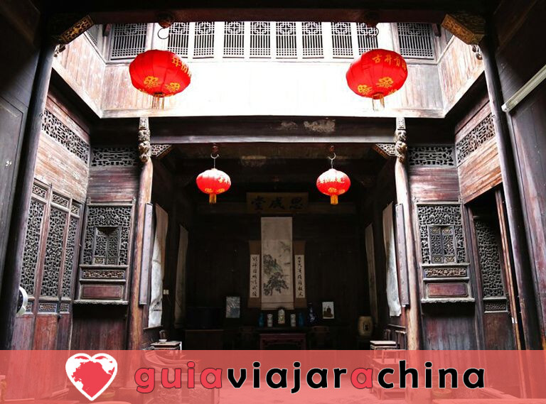 Lucun Village - Las mejores tallas de madera de China 5