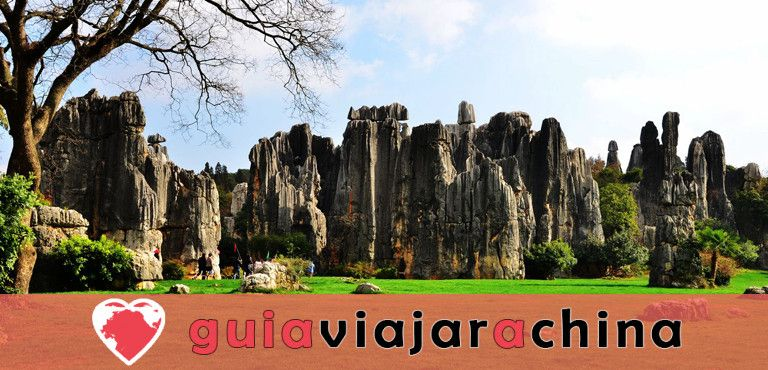 Bosque de Piedras de Kunming - primera maravilla del mundo 1