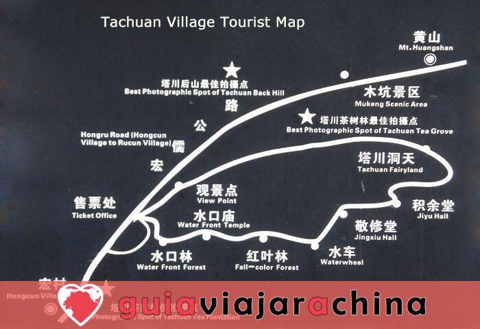 Pueblo Antiguo de Tachuan - El mejor escenario de otoño en China 7