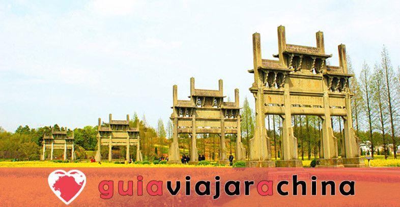 Arcos conmemorativos de Tangyue - El grupo de arcos más grande de China 1