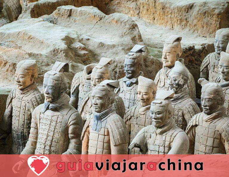 Guerreros y caballos de terracota - Museo de Sitio del Mausoleo del Emperador Qinshihuang 2