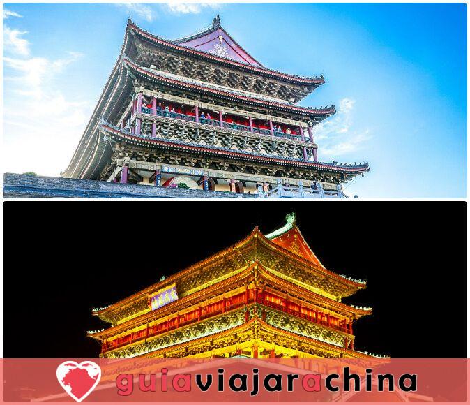 Torre de Tambor Xian - Edificio hermano de la Torre de Campana Xian 3