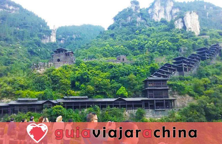 Tribu de las Tres Gargantas - El más bello lugar escénico en Yangtze Three Gorges 4