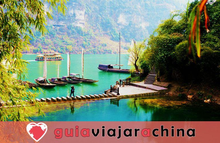 Tribu de las Tres Gargantas - El más bello lugar escénico en Yangtze Three Gorges 2