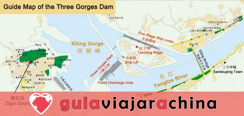 Presa de las Tres Gargantas - Proyecto de control de aguas de gran envergadura en el mundo 8