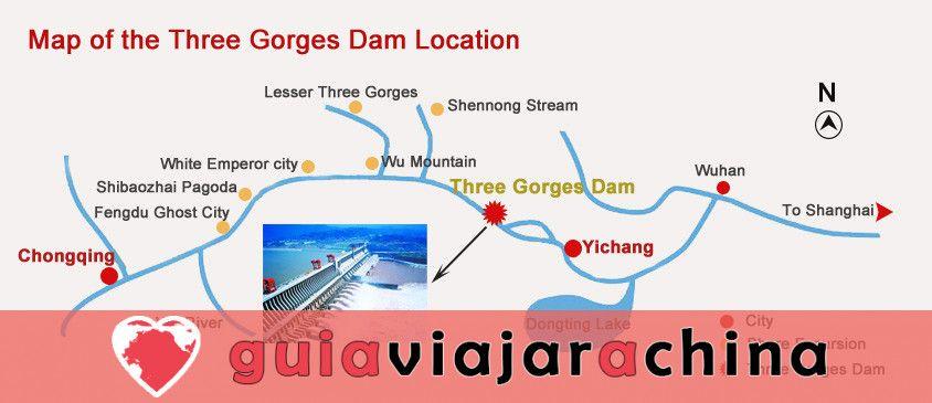 Presa de las Tres Gargantas - Proyecto de control de aguas de gran envergadura en el mundo 7