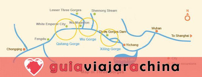 Tres Gargantas - pintoresco punto culminante del crucero por el río Yangtsé 10
