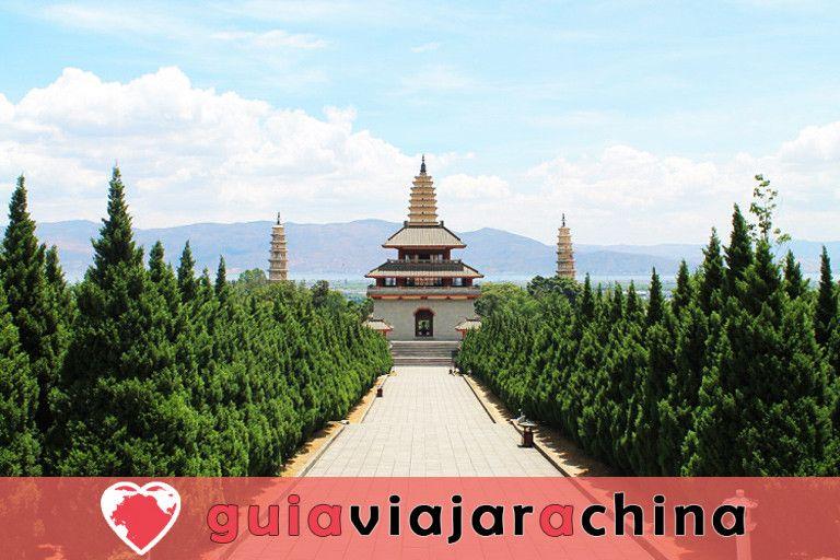 Tres Pagodas y el Templo Chongsheng 3