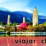 Tres Pagodas y el Templo Chongsheng
