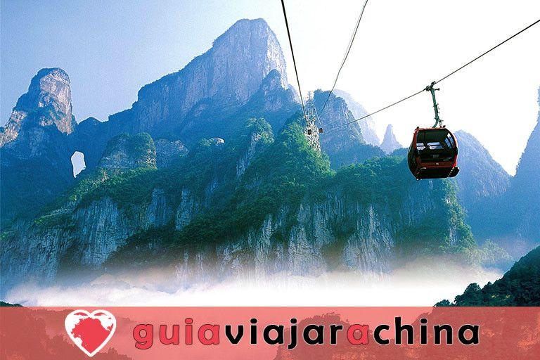 El Gran Cañón de Zhangjiajie - El puente de cristal más alto del mundo y el encantador país de las maravillas 9