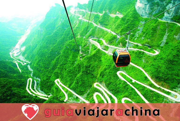El arroyo Golden Whip - la ruta de senderismo más impresionante de Wulingyuan 11